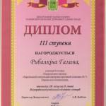 Диплом Рибалкіна